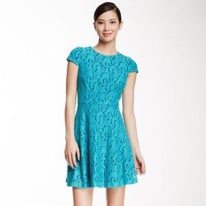 Cynthia Steffe Women's Delphine Dress, Ocean Jade